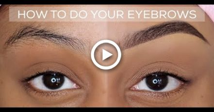 HOW TO: QUICK AND EASY EYEBROW TUTORIAL | BEGINNER FRIENDLY | UPDATED BROW ROUTINE