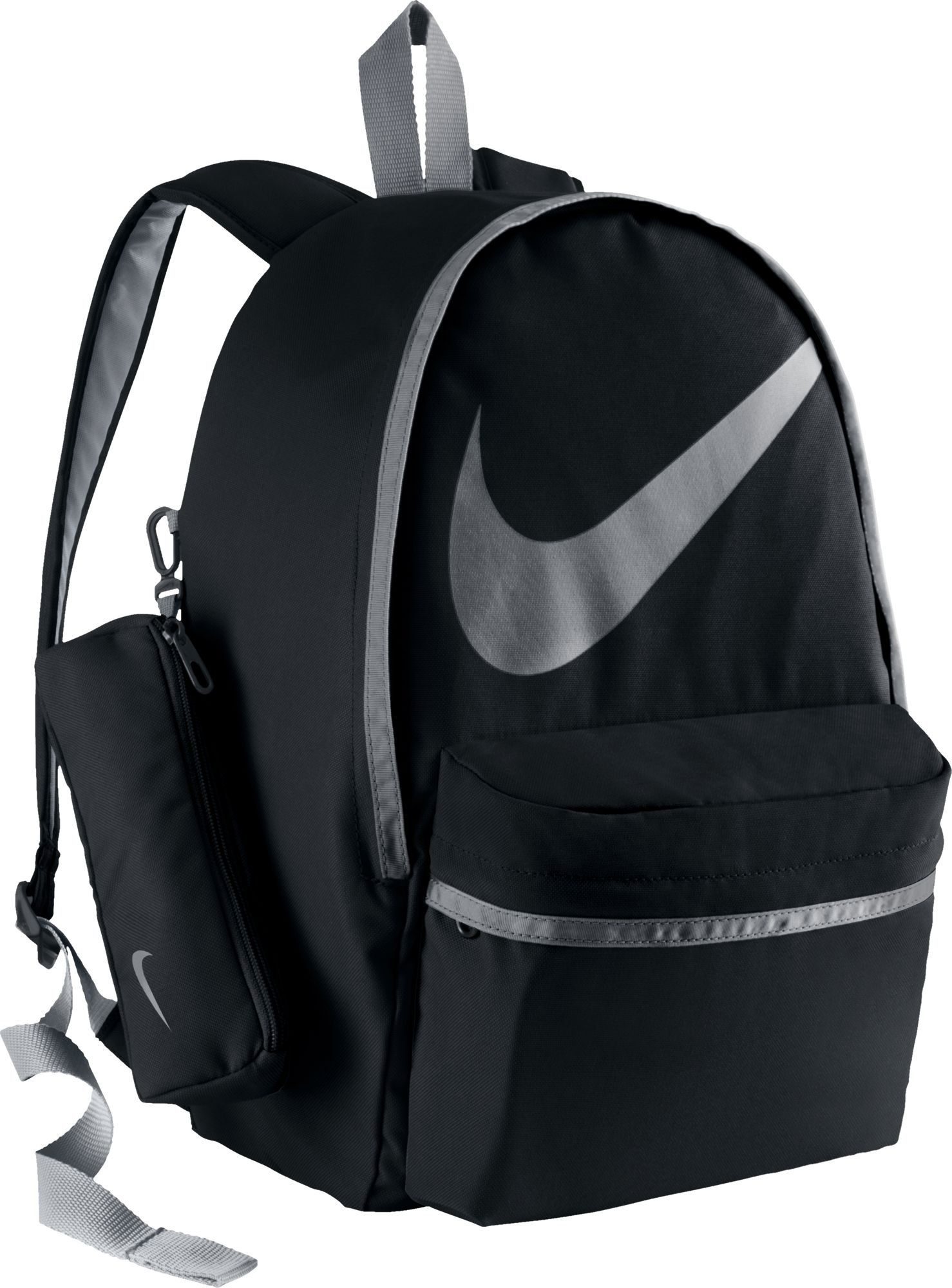 Nike Kids Halfday Back To School Backpack Black Grey Sports