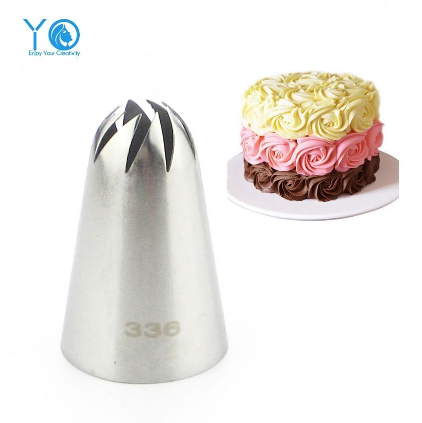 1pc Petal Piping Tip Nozzle Sugarcraft Decorating Pastry Tips Decorating Tool