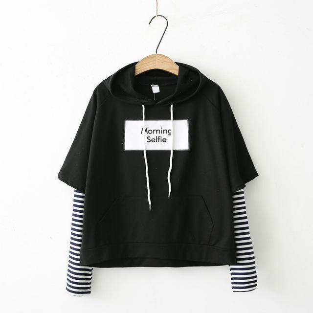 2018 New BTS Hoodie Bangtan Boys Hoodies Casual Sweatshirt Tops Pullovers Kpop Fans Clothes Solid Cotton Harajuku Kawaii Tops