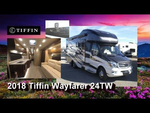 New 2018 Tiffin Wayfarer 24tw Mount Comfort Rv Wayfarer