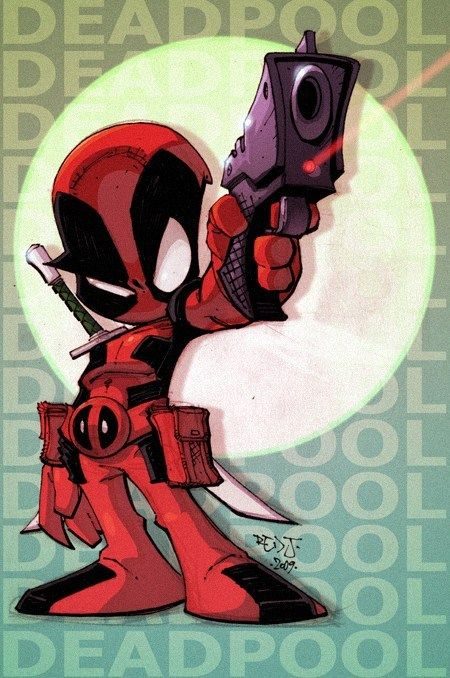 Baby Deadpool So Cute!