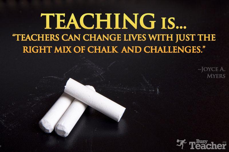 Teaching is...