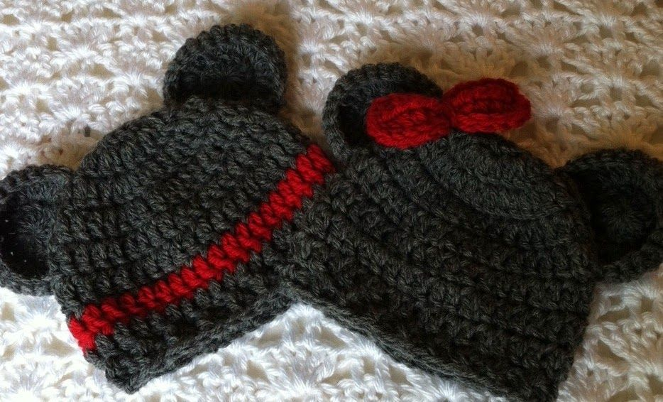 Lakeview Cottage Kids: NOW AVAILABLE!!! Mr. and Missy Mouse Crochet ...