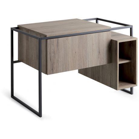 Simas frame Waschtischunterschrank, 105cm mit 1 Auszug und offenem - regale für badezimmer