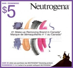 graphic relating to Printable Neutrogena Coupon called Neutrogena Canadian Coupon: $5 Off Any Cleaning Products