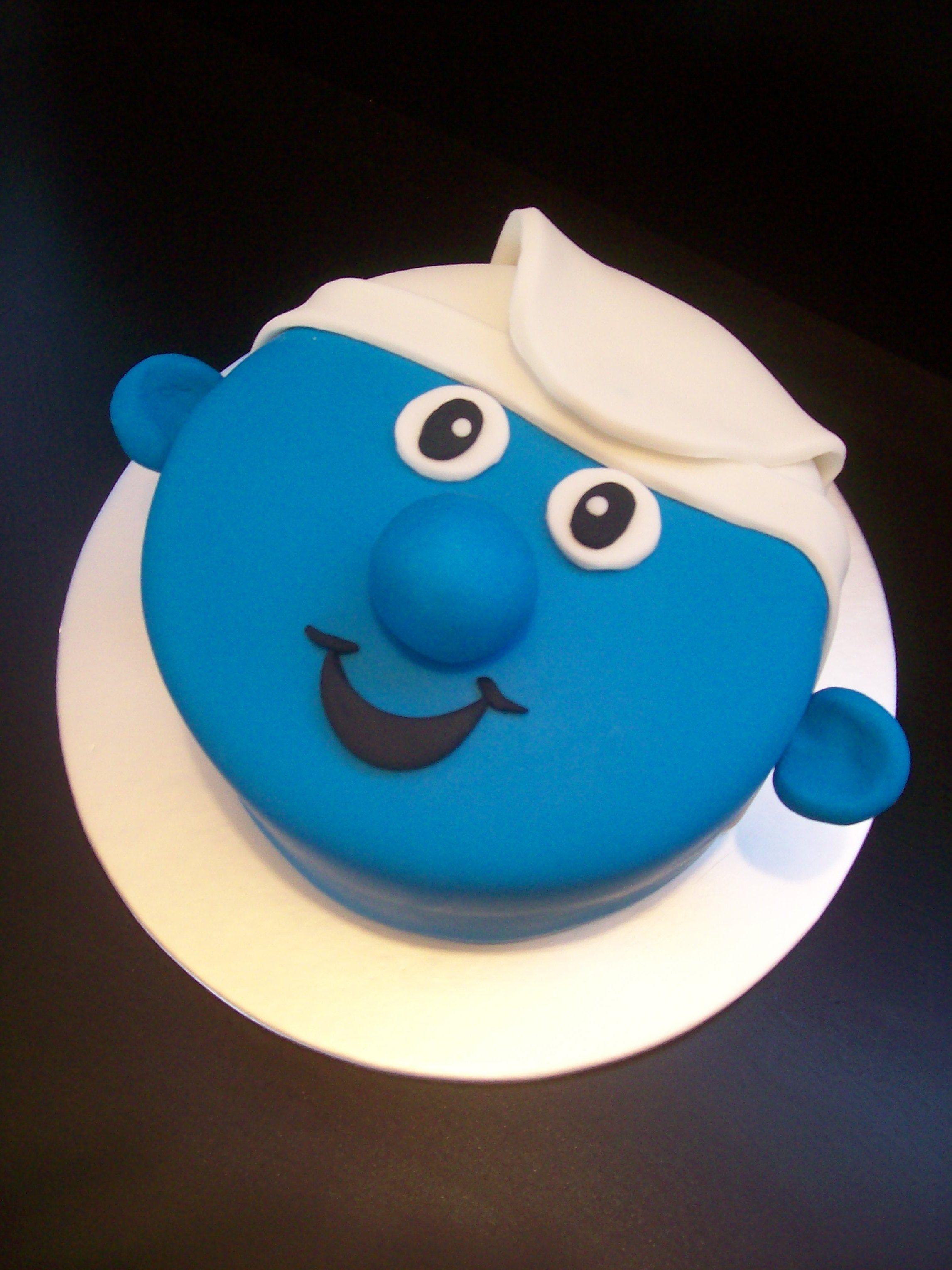 Clumsy Smurf Cake Auckland 99 Cake Smurfs Cake Cake Designs