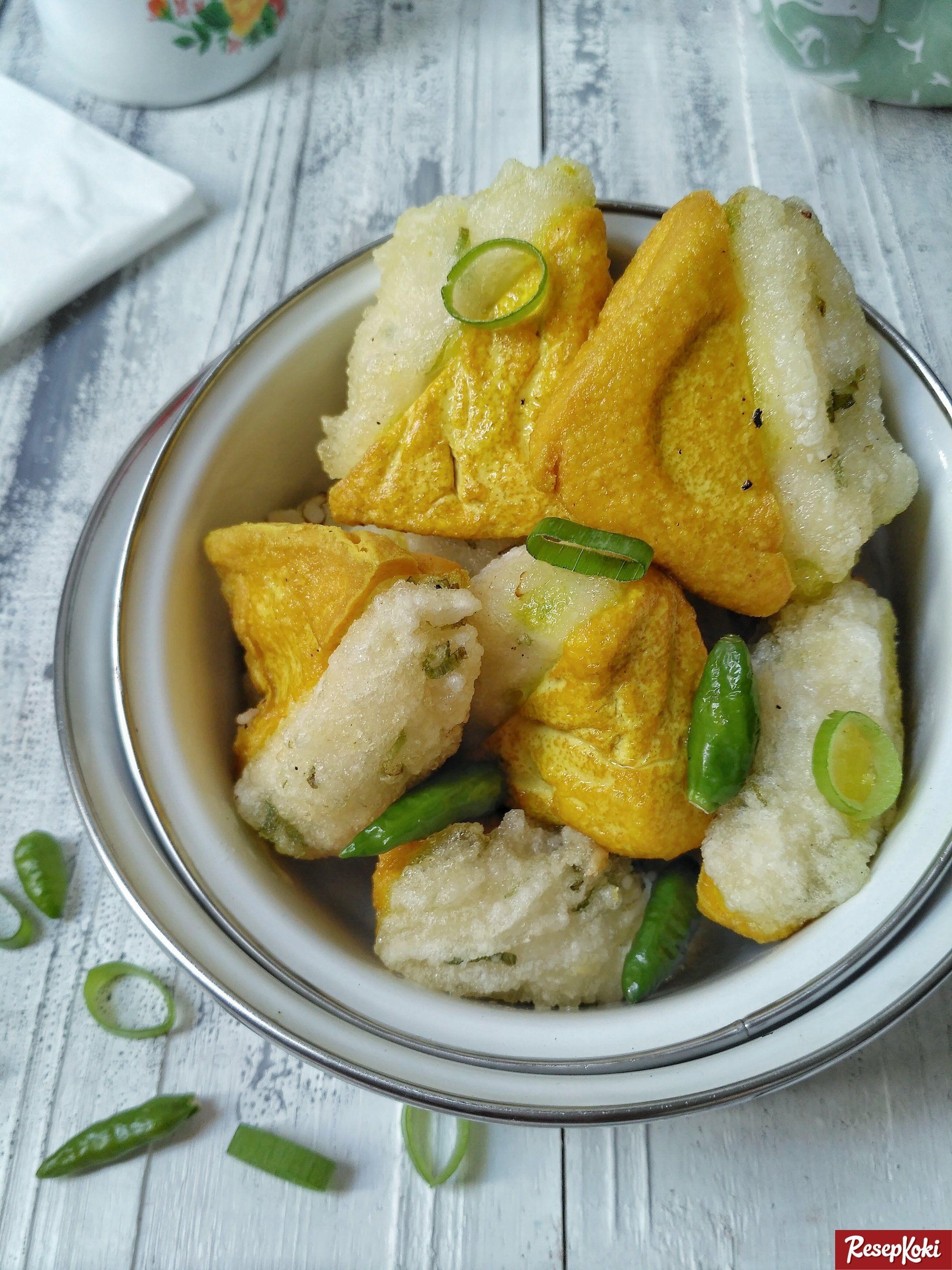 Tahu Aci Gurih Kenyal Asli Khas Tegal Resep Resepkoki Resep Resep Tahu Makanan Resep Masakan Asia