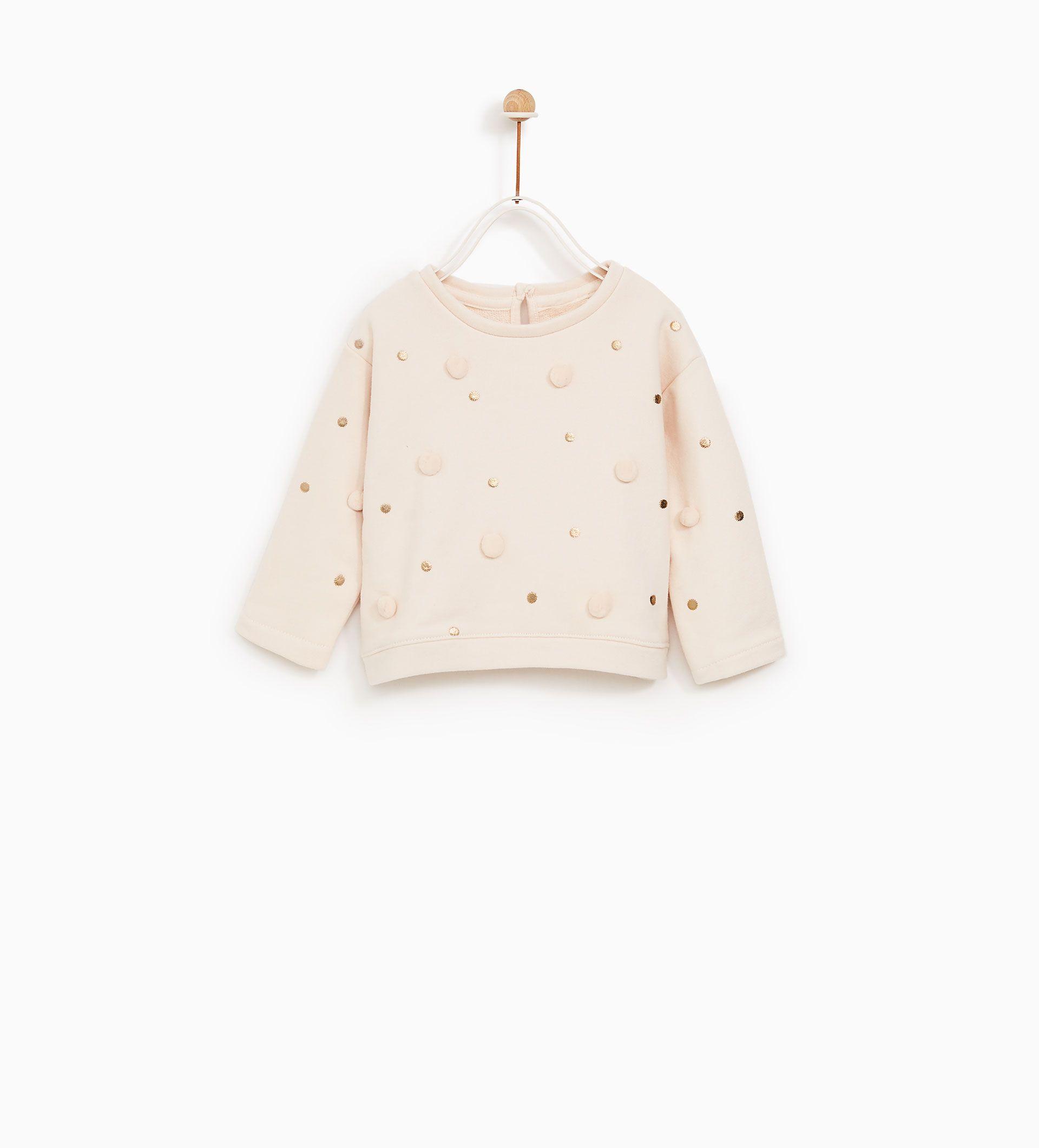 prezzo moderato tecnologie sofisticate molti alla moda Immagine 1 di Felpa pompon di Zara | ELEMENTI BABY | Vestiti ...