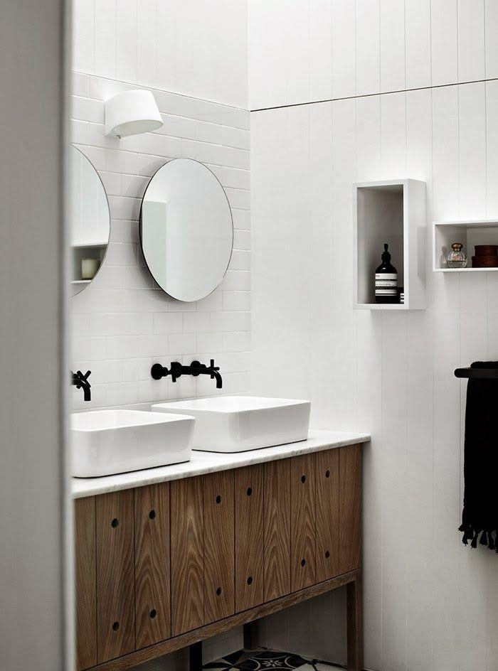 nische f r waschbecken im bad bad. Black Bedroom Furniture Sets. Home Design Ideas