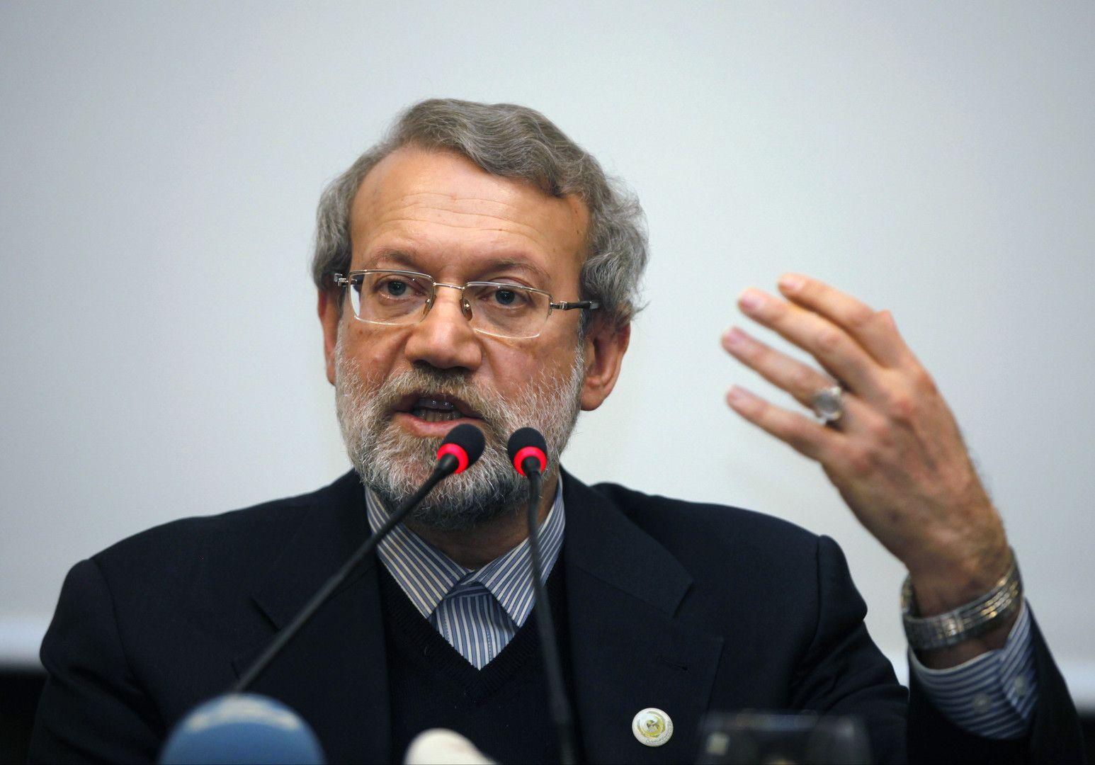 Le président du Parlement iranien, Ali Larijani, a