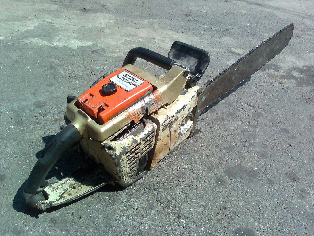 old stihl 051AV 2 | Chainsaws/Logging - wood cutting in 2019