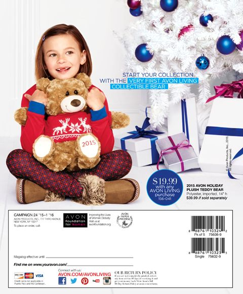 Avon Christmas 2017 - SHOP Living Winter Catalog for gifts ...