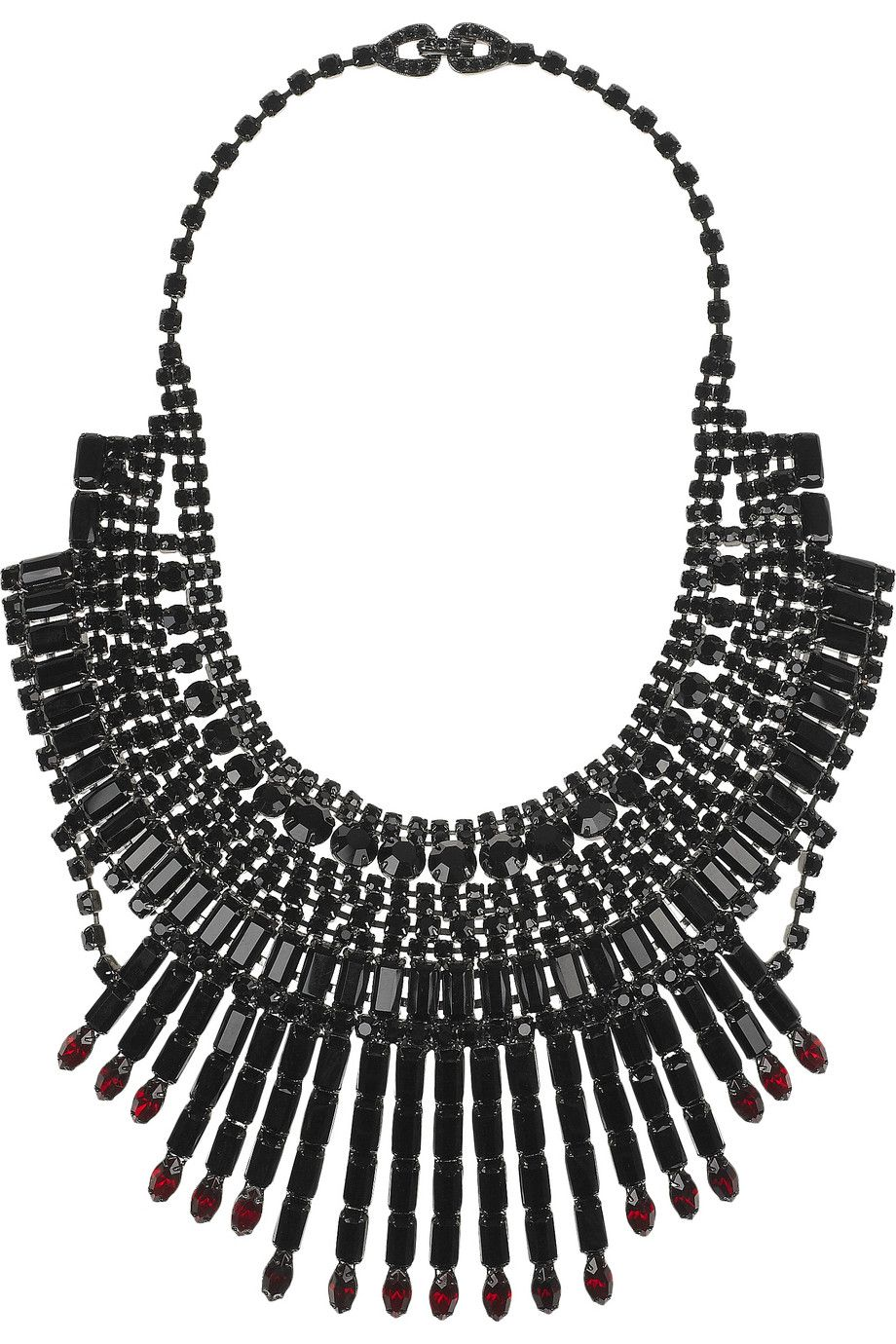 Tom Binns Crystal Bib Necklace, £1,690
