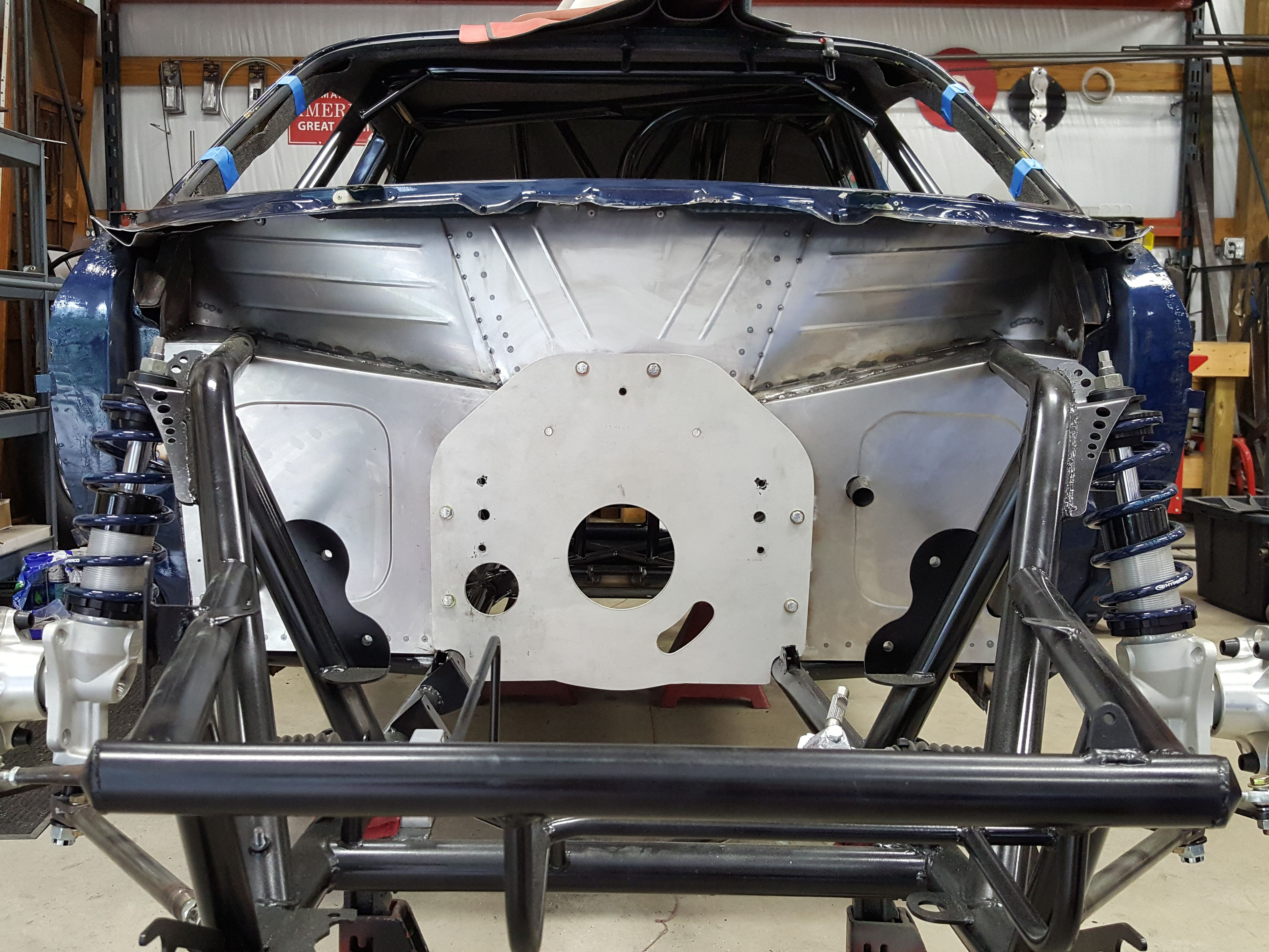 A One Of A Kind Piece Of Artwork Chassis Fabrication Drag Racing Tube Chassis