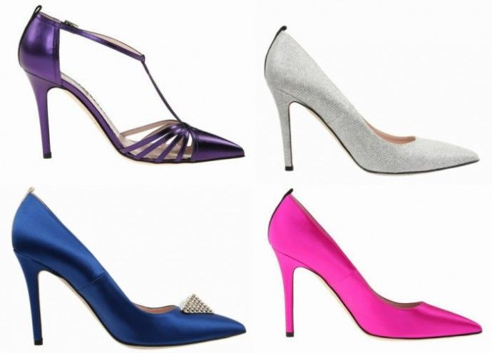 This Sarah Jessica Parker Shoe Collection Celebrates Las Vegas Glamor #shoes trendhunter.com