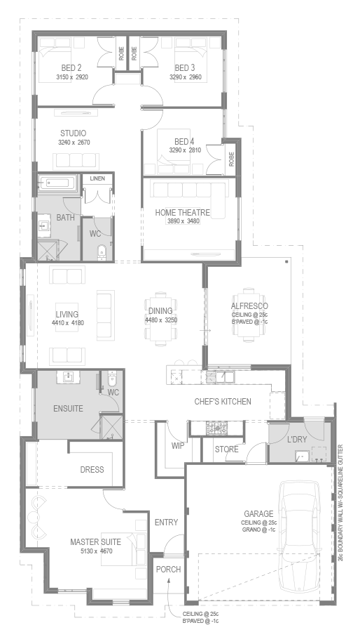 The Zambia Floorplan by GO Homes | Outstanding House Plans ... on