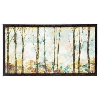 Pastel Birch Trees Framed Art | Hobby Lobby | Metal Tree Wall Art ...
