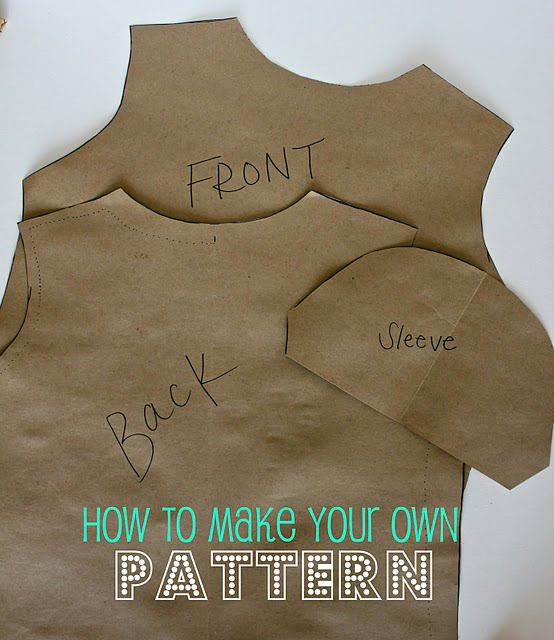 How-To: Make Your Own Sewing Pattern | Patterns, Sewing projects and ...