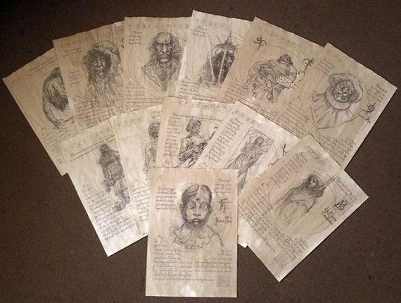 Thirteen Ghosts 13 Ghosts Black Zodiac By Mattsreplicaprops Wall