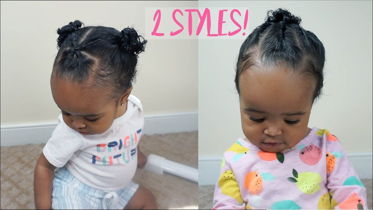 2 cute and easy hairstyles for baby girls | zara's 1st