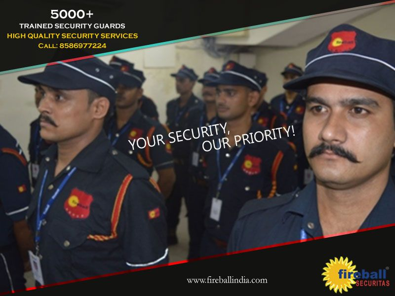 Fireball Securitas employs over 5000 well-trained security