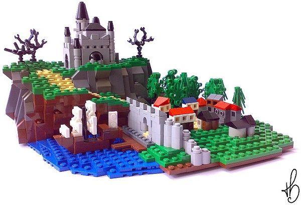 LEGO Microscale by Marcos Bessa   Lego Micro Scale   Lego ...