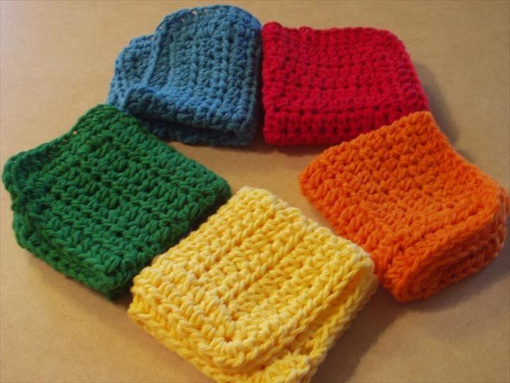 56 Quick & Easy Crochet Dishcloth