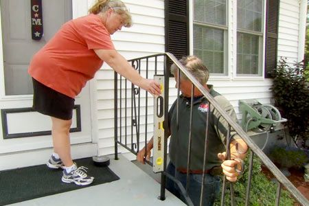 How To Repair A Rusted Wrought Iron Railing Wrought Iron Porch