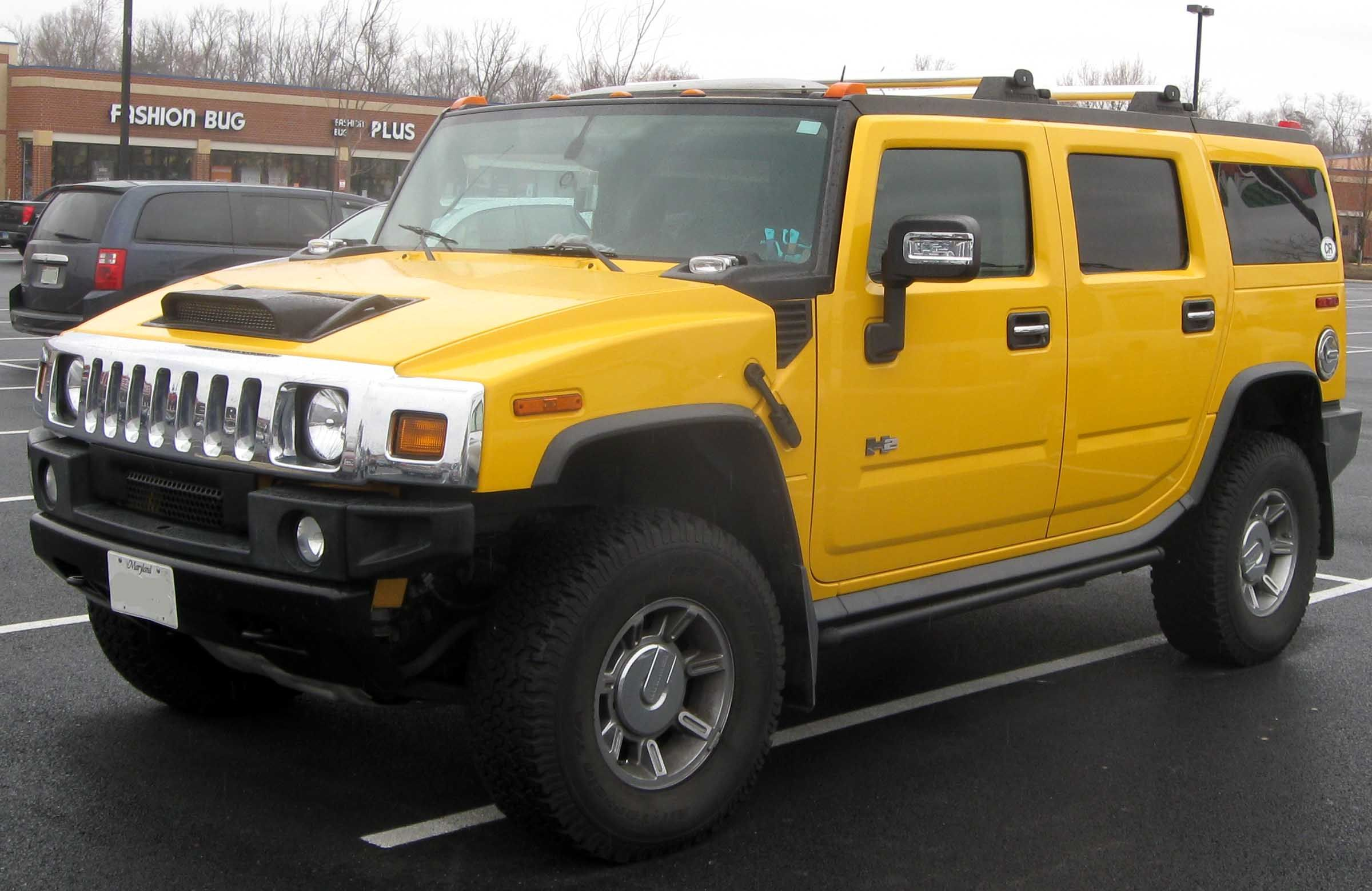 A rather hefty ride the hummer has none of the sleek characteristics that often note a sexy car its appealing brawny look marked the heyday of the big