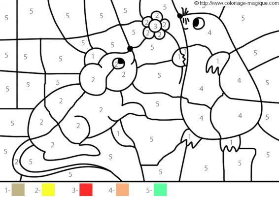 Pin On Coloriage Magique