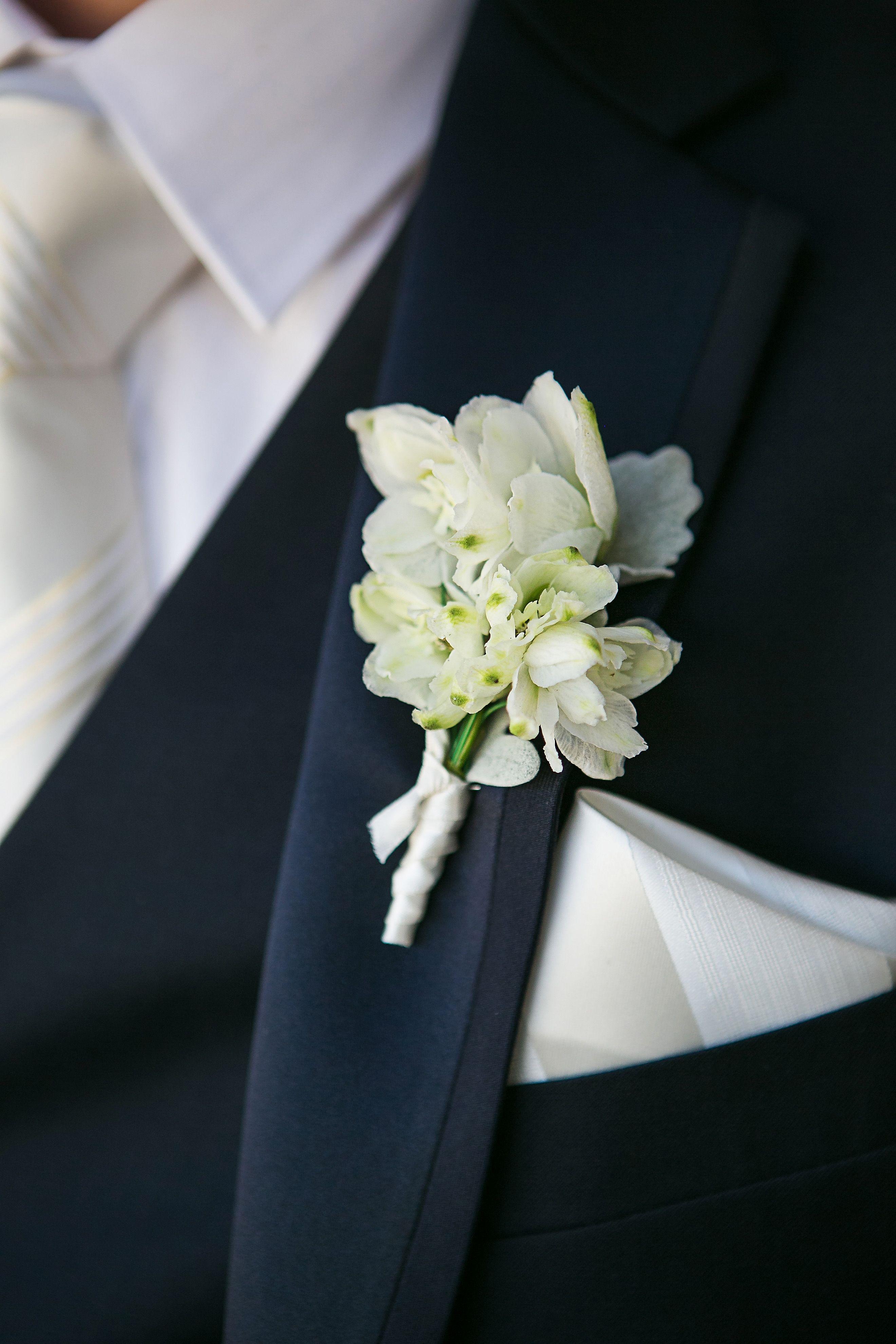 Real Wedding White Buttonholes Boutonniere Vintage Melbourne Bride