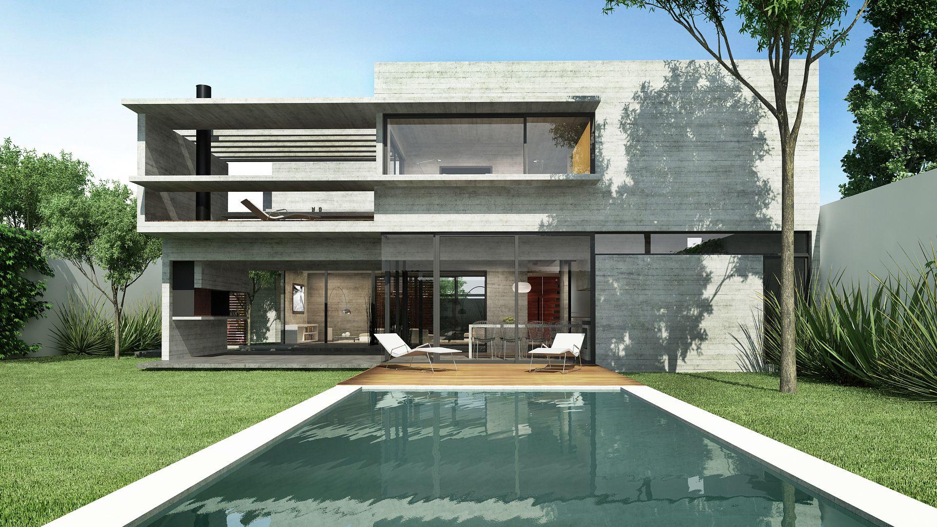 Casa Solís. House, House styles