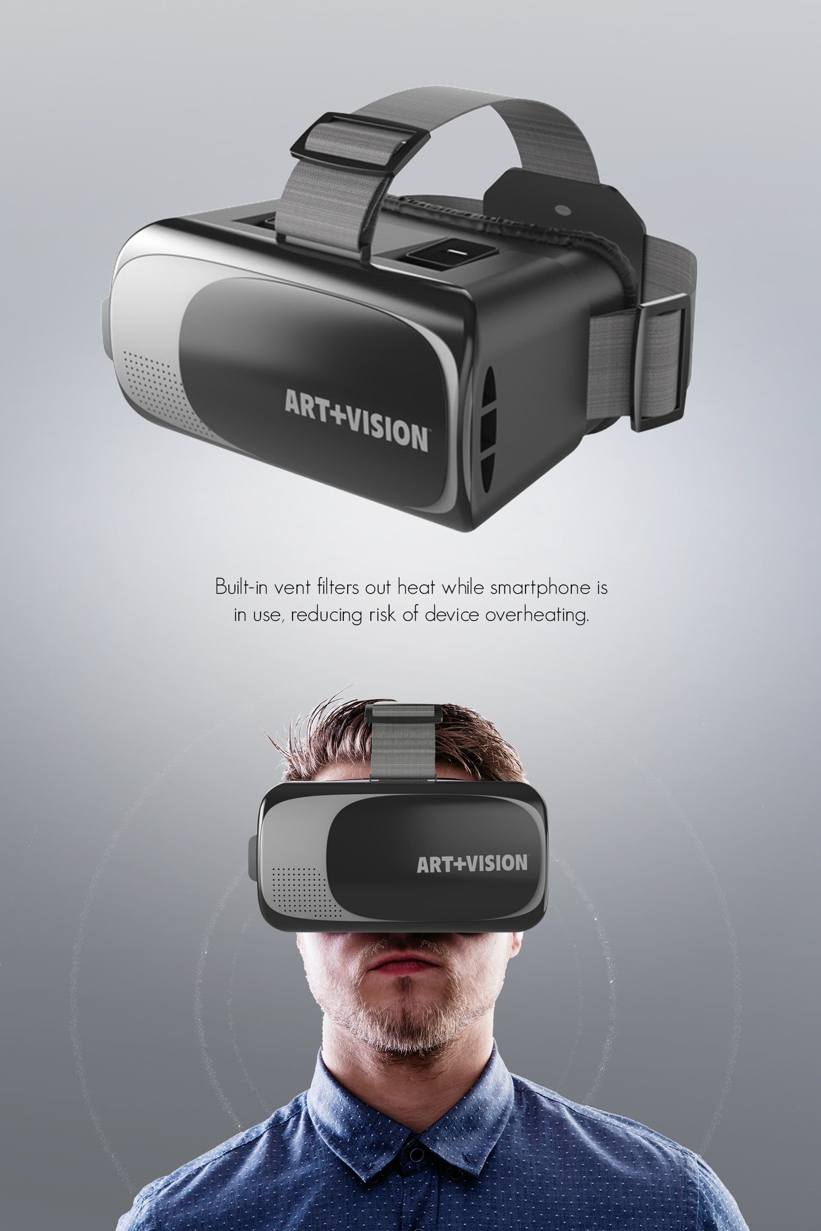 18a53f9caeeb Art Vision Virtual Reality VR Headset 3D Glasses Works With All Smartphones  4.76 Android  VirtualRealityHeadsetandGameIdeas