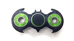 Black And Green Bat GirlFidget SpinnersWood