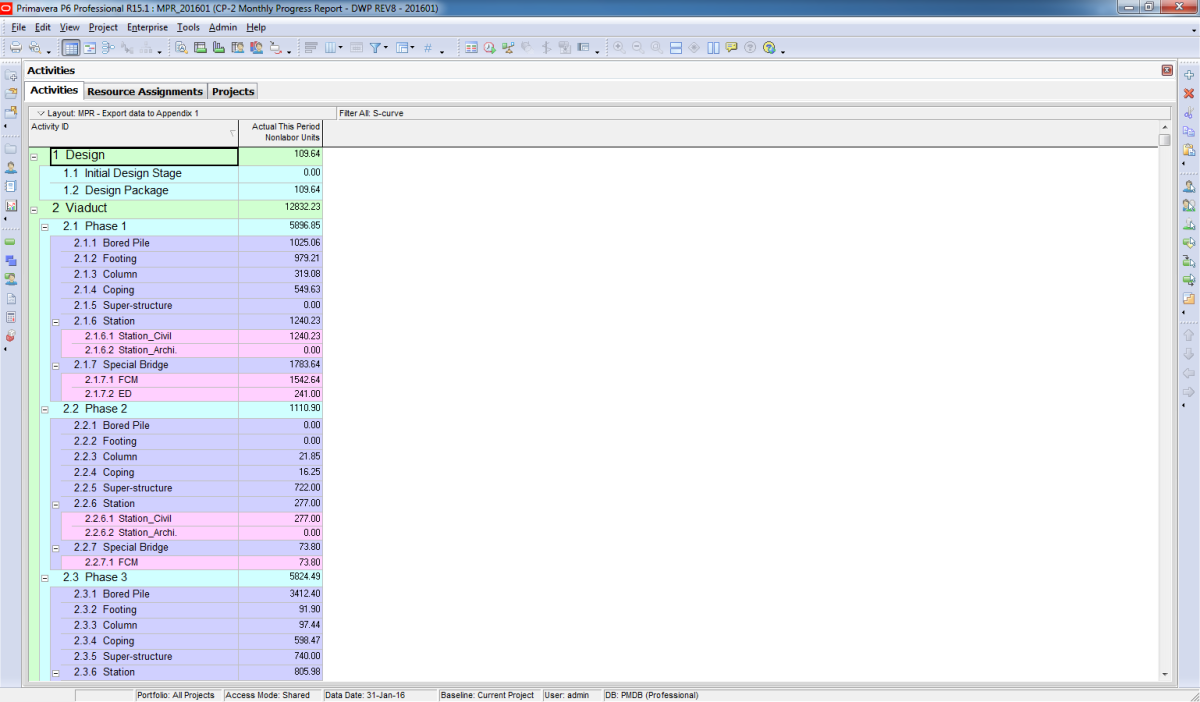 export ms project to excel