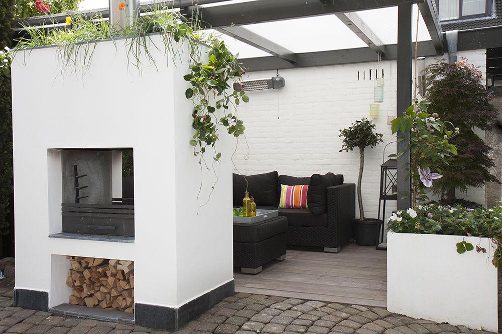 Tuin Open Haard : Overkapping met open haard quoetveranda terras overkapping tuin