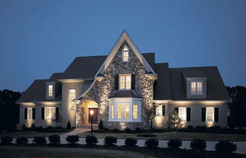 Designing Outdoor Lighting Ideas Modern Farmhouse Exterior Beautiful Houses Exterior House Exterior