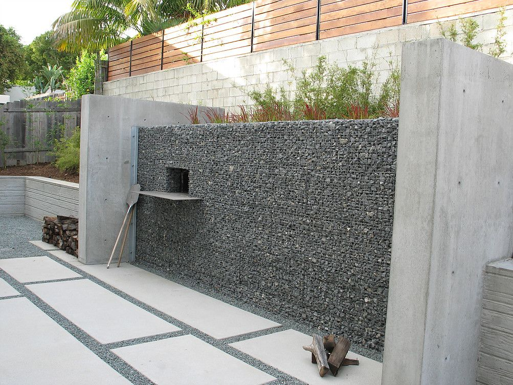 Grounded Modern Landscape Architecture Modern Landscaping Modern Outdoor Grills Modern Landscape Design