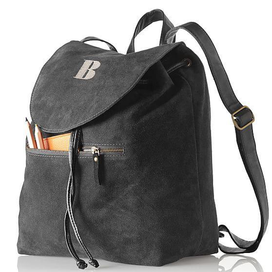 Suede Boho Backpack | Mark and Graham