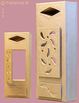 cache compteur electrique en carton avec porte ajour e cardboard items pinterest cardboard. Black Bedroom Furniture Sets. Home Design Ideas