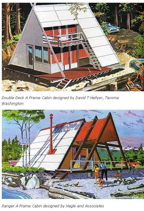 Screenshot Of A Frames A Frame Cabin Modern Cottage Cabin Design