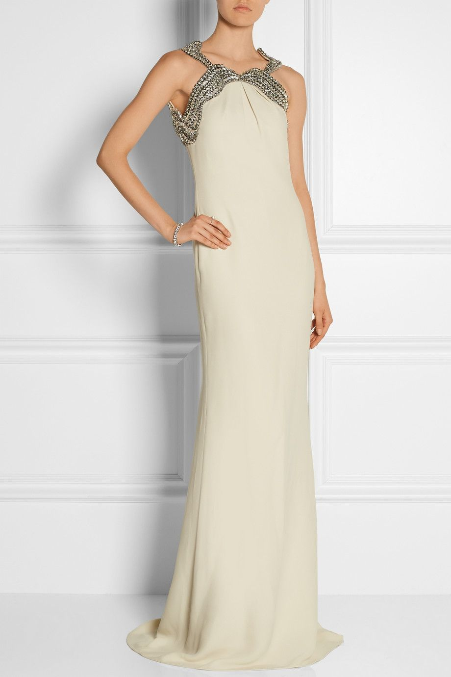 Gucci | Embellished silk-cady gown | NET-A-PORTER.COM | My Style ...