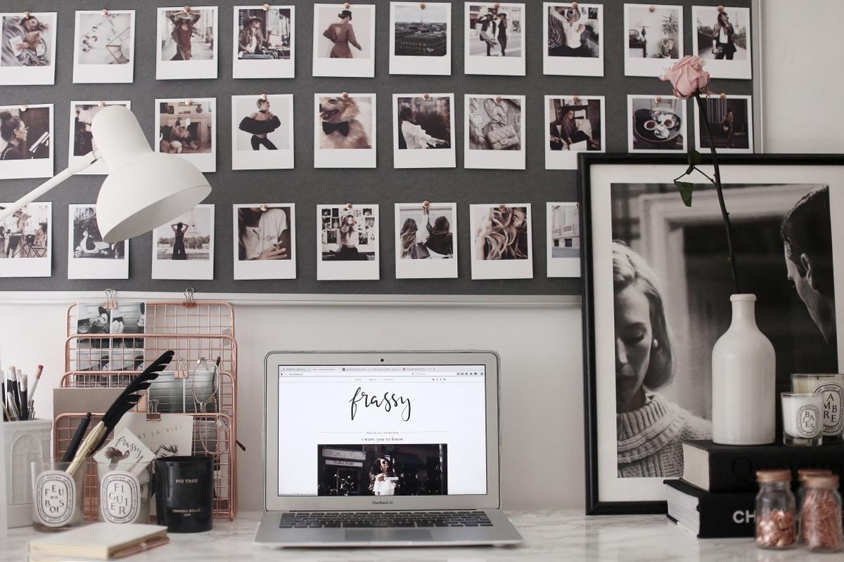a polaroid office wall – Frassy | Shake it like a Polaroid Picture ...