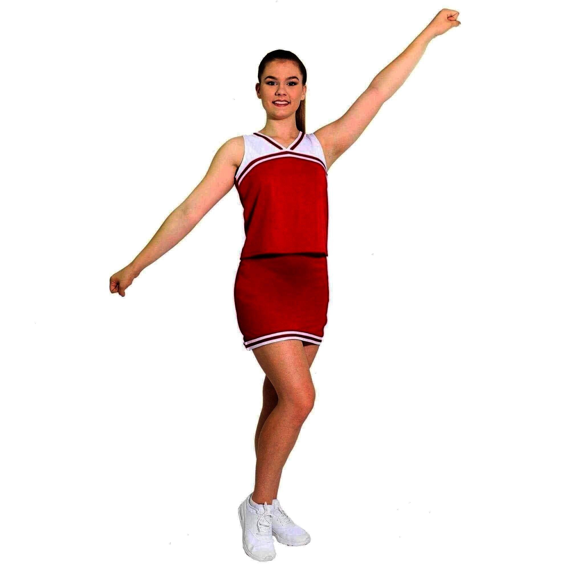 Danzcue Girls Classic Cheerleaders Uniform Shell Top