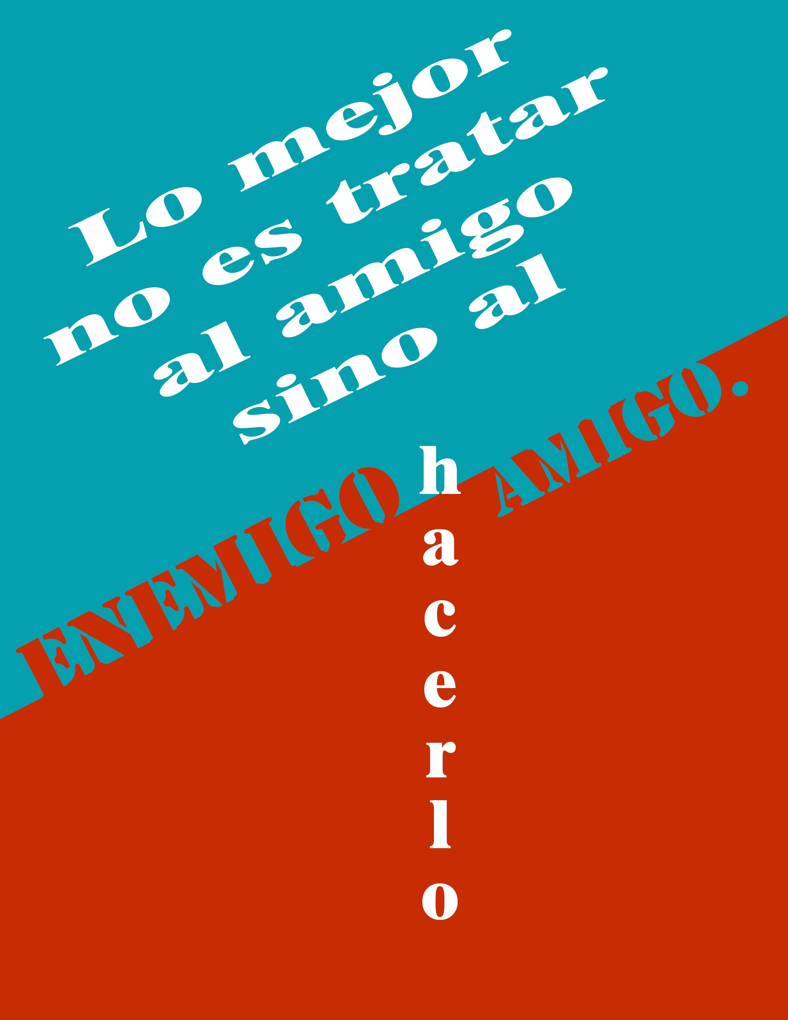 Friendship quote in spanish