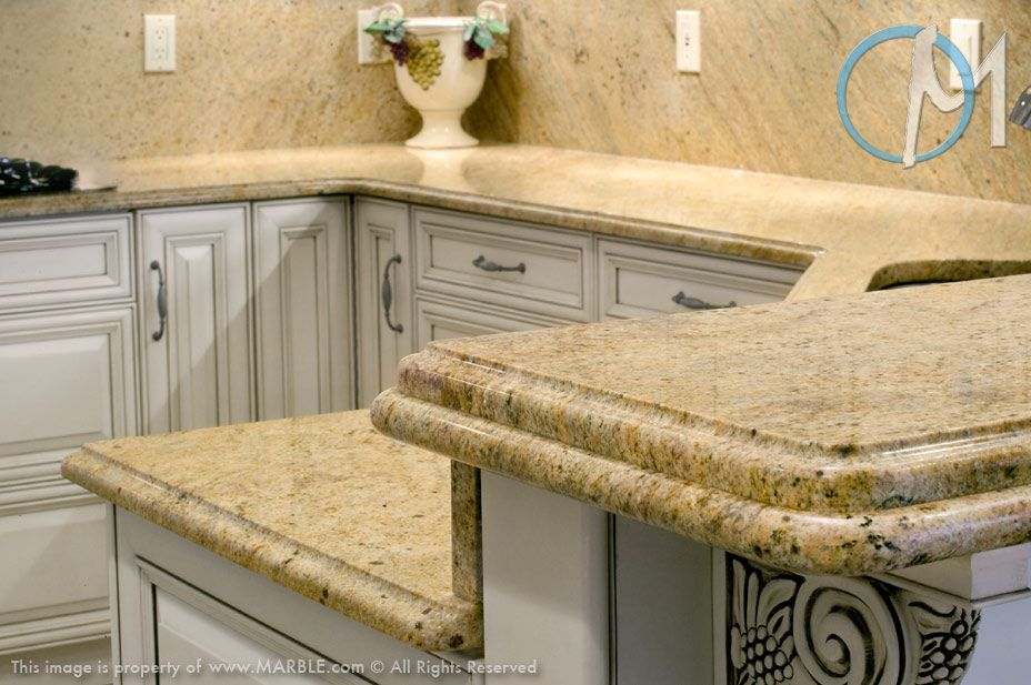 17 Best images about Countertops on Pinterest | Giallo ornamental granite,  Industrial companies and Mediterranean kitchen
