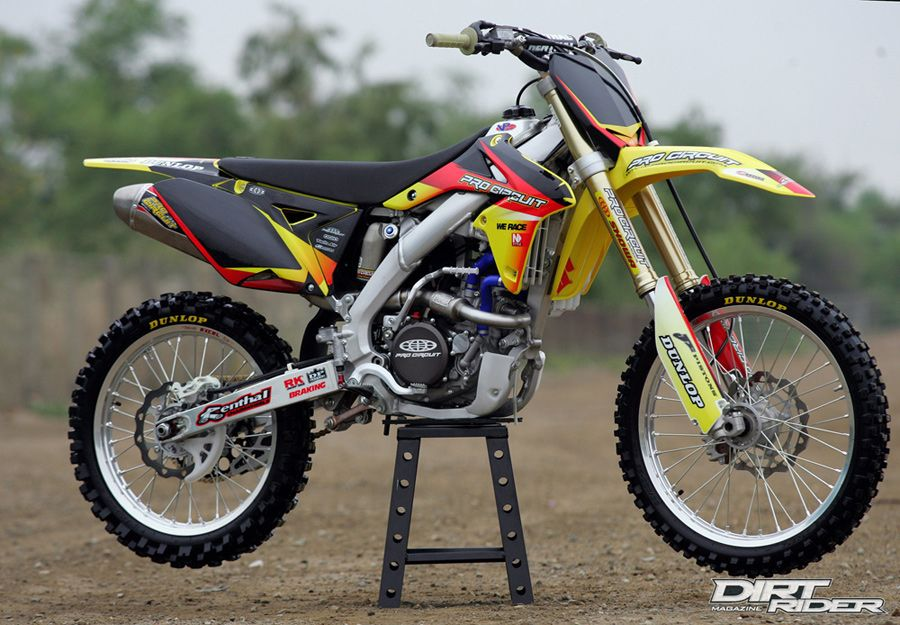 pro circuit rmz 250 race bike right 900 625. Black Bedroom Furniture Sets. Home Design Ideas
