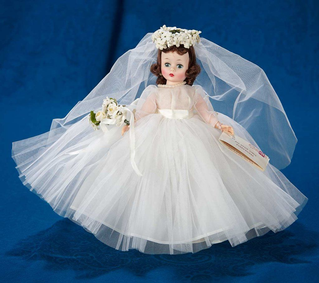 10 Cissette As Bride In White Tulle Gown By Madame Alexander 100