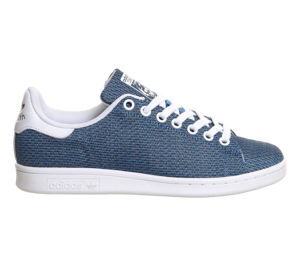 adidas stan smith bold aqua knit